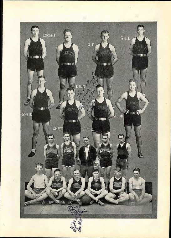 Stephenson WE AHS 1928 basketball