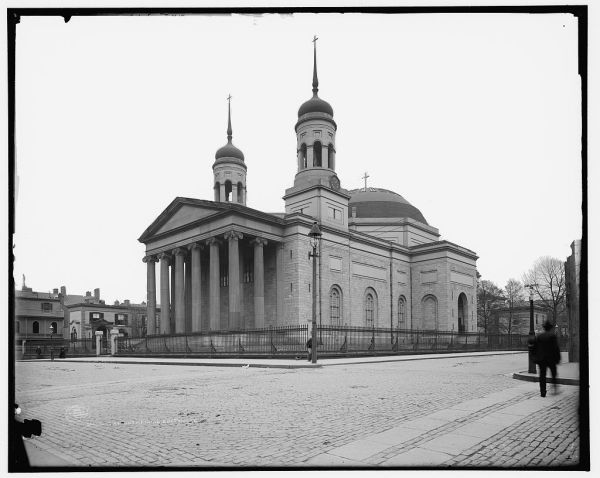 Baltimore Cathedral c. 1902