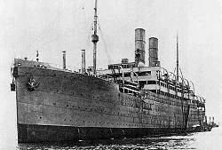 SS Aurania Cunard